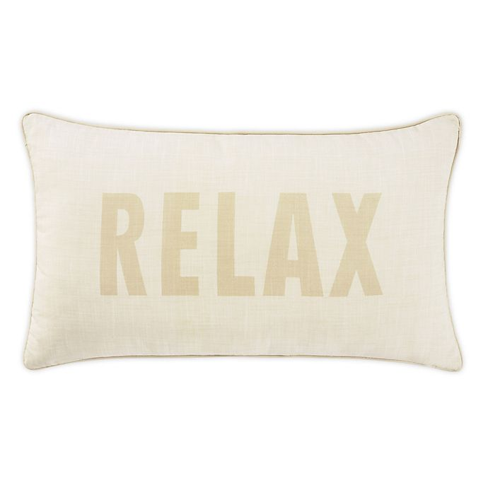 Alternate image 1 for Tommy Bahama® Relax Bolster Pillow in Ivory