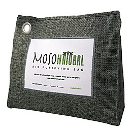 Moso 21 oz. Standup Natural Air Purifying Bag in Charcoal