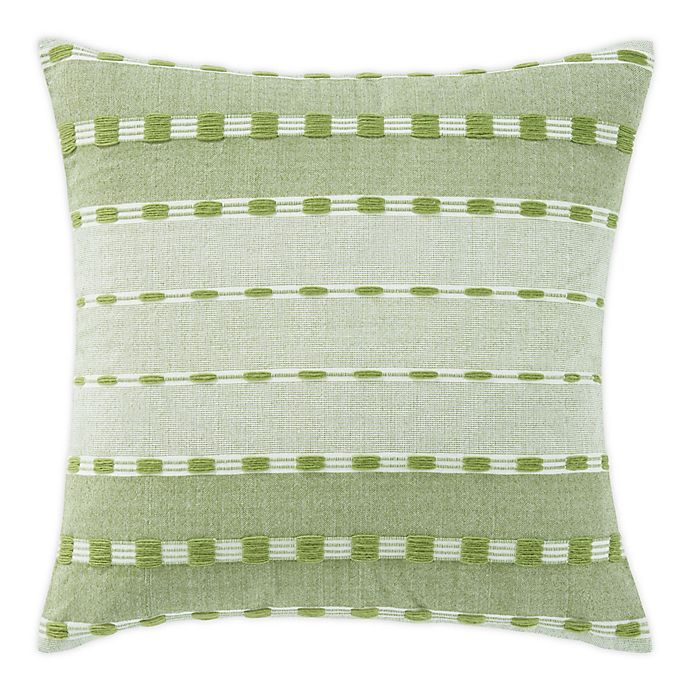 Alternate image 1 for Tommy Bahama® Palms Sarong Square Throw Pillow in Green