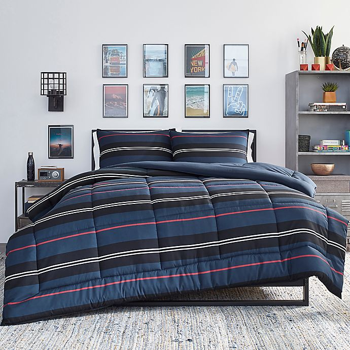 Alternate image 1 for Nautica® Talmage Twin XL Comforter Set in Navy