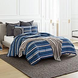 ED Ellen DeGeneres™ Horizon Stripe Comforter Set in Indigo