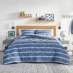 Nautica® Keller King Comforter Set in Blue