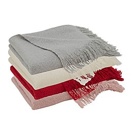 Saro Lifestyle Faux Mohair Throw Blanket