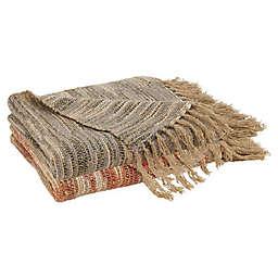 Saro Lifestyle Chindi Throw Blanket