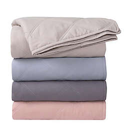 Ellen Tracy Quilted Throw Blanket
