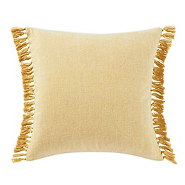 Tommy Bahama® Island Essentials Fringe European Sham Pillow in Orchre