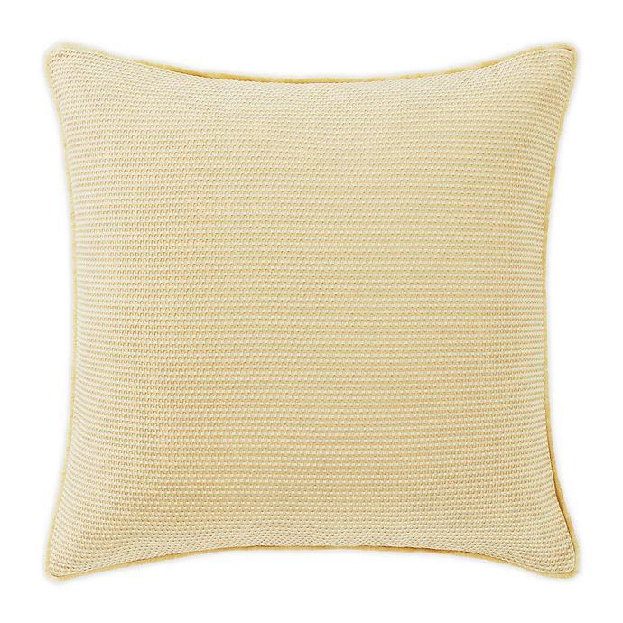 Alternate image 1 for Tommy Bahama® Resort Pique European Pillow Sham in Ochre