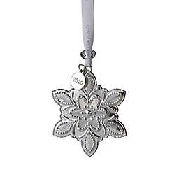 Waterford® 3.5-Inch Holiday Tree Silver Snowflake Ornament