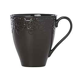 Lenox® Chelse Muse Fleur Matte Black™ Mugs (Set of 4)