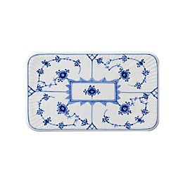 Royal Copenhagen Fluted Mega 6.25-Inch Serving Board in Blue