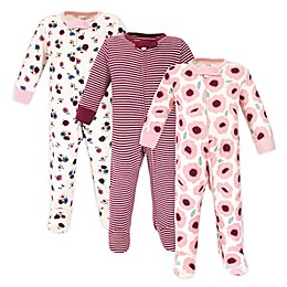 Touched by Nature 3-Pack Organic Cotton Sleep 'N Plays