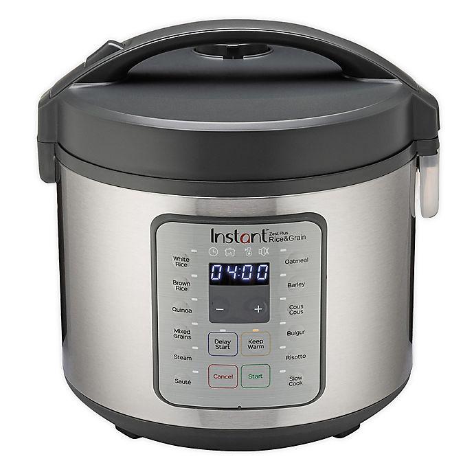 Alternate image 1 for Instant Pot® 20-Cup Zest Plus Rice Cooker