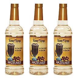 Jordan's Skinny Syrups® 3-Pack 750 mL Hazelnut Syrups