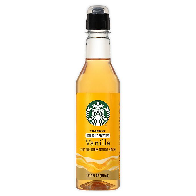 Alternate image 1 for Starbucks® 12 oz. Vanilla Flavored Syrup