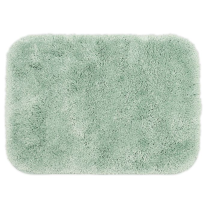 Alternate image 1 for Wamsutta® Duet 17-Inch x 24-Inch Bath Rug in Mint