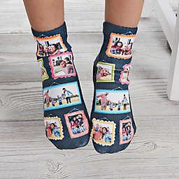 Framed Photo Personalized Toddler Photo Socks