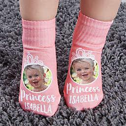 Princess Personalized Photo Toddler Socks