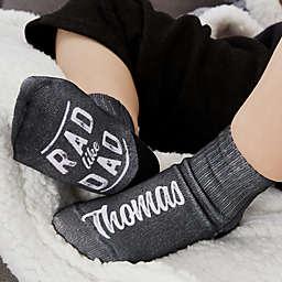 Rad Like Dad Personalized Toddler Socks