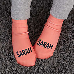 Expressions Personalized Toddler Socks