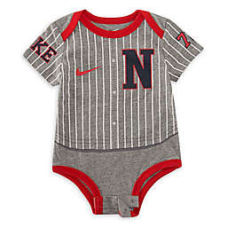 Nike® Baseball Uniform Bodysuit in Grey