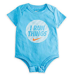 Nike® Run Things Bodysuit in Light Blue