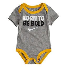 Nike® Born Bold Bodysuit in Grey/Yellow