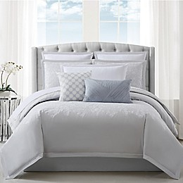 Charisma® Celini Reversible Duvet Set in Grey/White
