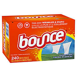 Bounce® 240-Count Fabric Softener Dryer Sheets in Outdoor Fresh