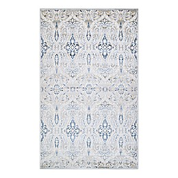 Couristan® Nirvana Thames Rug in Ivory-Blue
