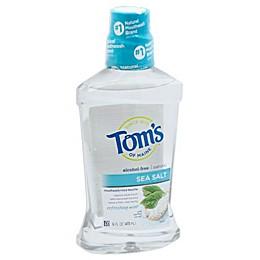 Tom's of Maine® 16 oz. Sea Salt Refreshing Mint Mouthwash