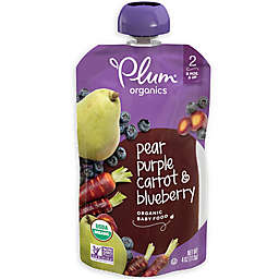 Plum Organics™ Second Blends™ Blueberry, Pear and Purple Carrot Baby Food Pouch