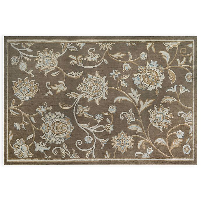 Alternate image 1 for Home Dynamix Westwood Floral Rug in Taupe