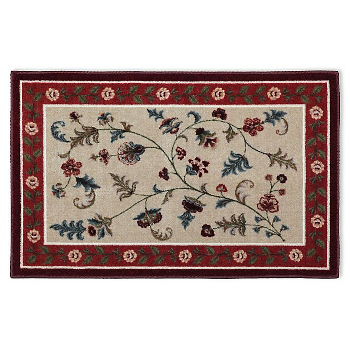 Alternate image 1 for Brumlow Mills Farrah Washable Accent Rug