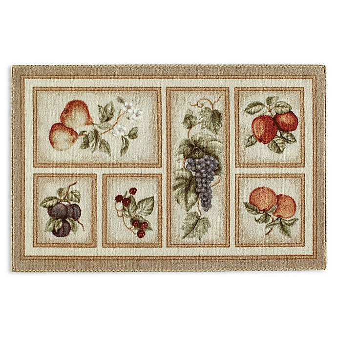 Alternate image 1 for Brumlow Mills Eden's Bounty Washable Accent Rug