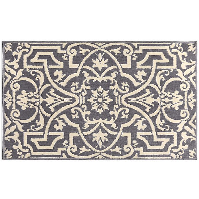 Alternate image 1 for Home Dynamix Westwood Trellis Accent Rug in Grey