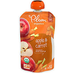 Plum Organics™ Second Blends™ Apple and Carrot Baby Food Pouch