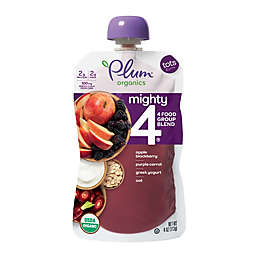 Plum Organics™ Tots 4 oz. Mighty 4™ Blend with Purple Carrot, Blackberry, Quinoa and Greek Yogurt