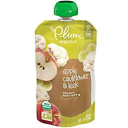 Plum Organics® Eat Your Colors® 3.5 oz. White: Apple, Cauliflower, Leeks Squeezable Puree