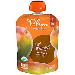 Plum Organics™ Just Fruit Mangos Baby Pouch