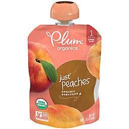 Plum Organics™ Just Fruit Peaches Baby Pouch