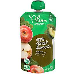 Plum Organics® Apple, Spinach, & Avocado 3.5 oz. Baby Food