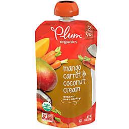 Plum Organics® Mango Carrot Coconut Cream 3.5 oz. Baby Food