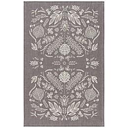 Now Designs™ Chambray Laurel Tea Towel in Grey