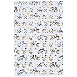Now Designs™ Sweet Ride Tea Towel in White