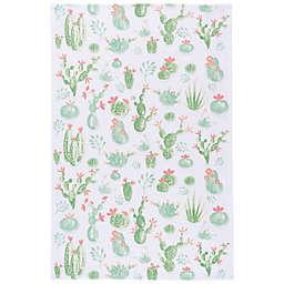 Now Designs™ Cacti Tea Towel in White