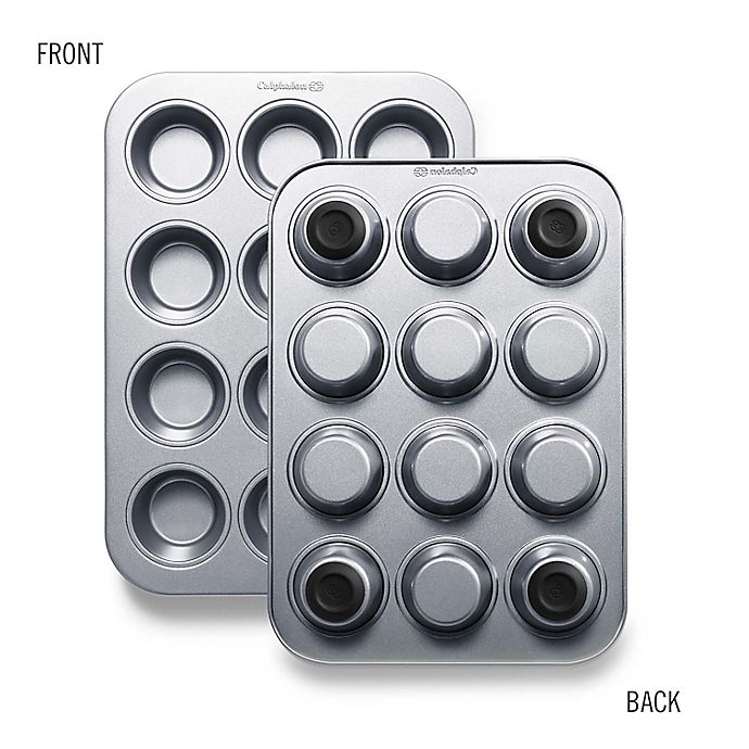 Alternate image 1 for Countertop Safe Bakeware 12 Cup Muffin Pan