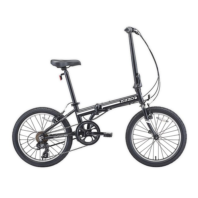 Alternate image 1 for ZiZZO® Campo 20-Inch 7-Speed Folding Bicycle