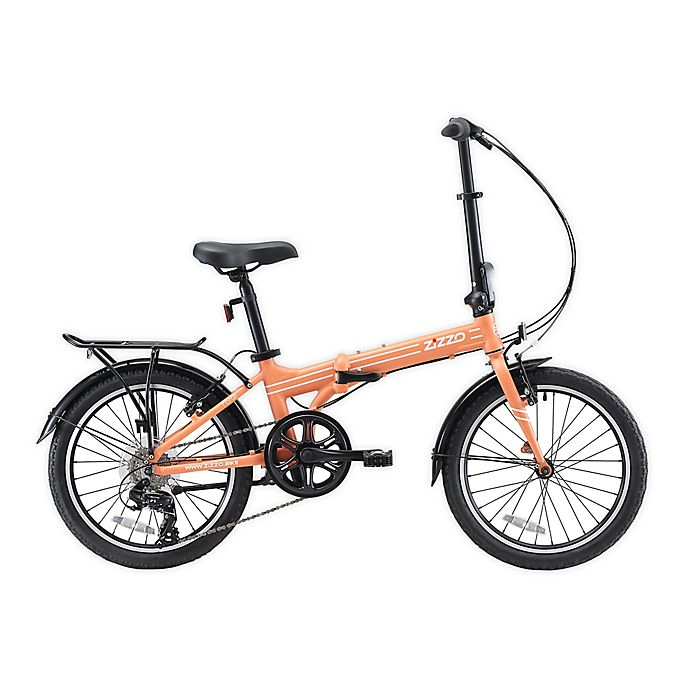Zizzo Forte 20 Inch 7 Speed Folding Bicycle Bed Bath Beyond