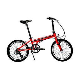 ZiZZO Urbano 20-Inch 8-Speed Folding Bicycle