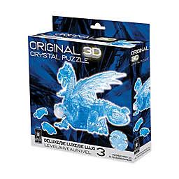 3D Crystal Puzzle - Dragon (Blue): 56 Pcs